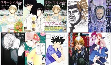 Classifica manga oricon dal 26 Settembre al 10 Ottobre 2016 (1-10)